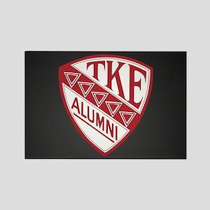 Tau Kappa Epsilon Shield Rectangle Magnet