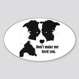 Border Collie Art Sticker