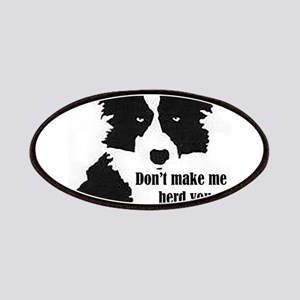 Border Collie Art Patch