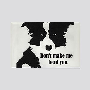 Border Collie Art Magnets
