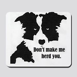 Border Collie Art Mousepad