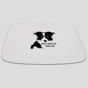 Border Collie Art Bathmat