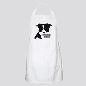 Border Collie Art Light Apron