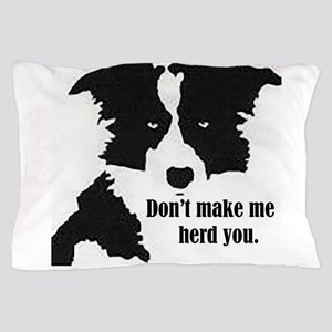 Border Collie Art Pillow Case