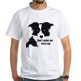 Dog Mens Classic White T-Shirts