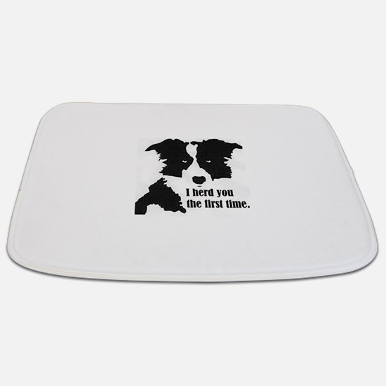 Border Collie Herd You Bathmat