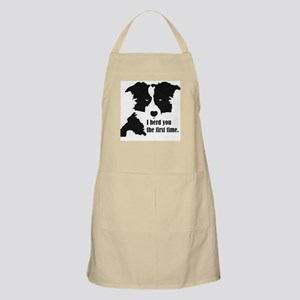 Border Collie Herd You Light Apron