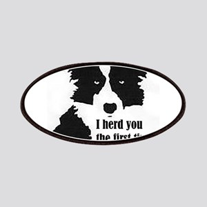 Border Collie Herd You Patch