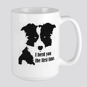 Border Collie Herd You Mugs