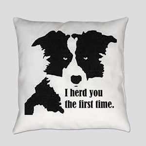 Border Collie Herd You Everyday Pillow
