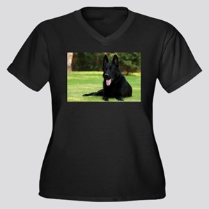 German Shepherd Plus Size T-Shirt