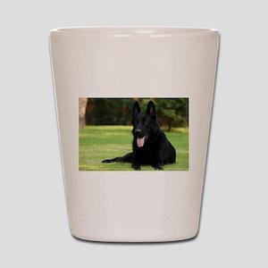 German Shepherd Shot Glass