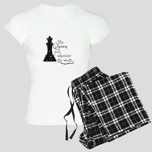 Chess Queen Women's Light Pajamas