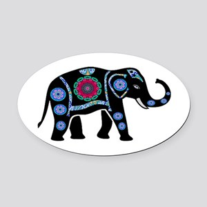 TRIBUTE Oval Car Magnet