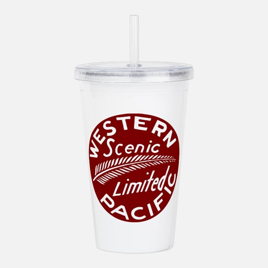 Western Pacific Limite Acrylic Double-wall Tumbler