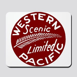 Western Pacific Limited Railroad Mousepad