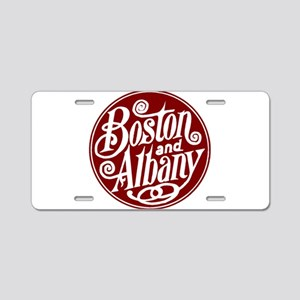 B&A Railway Aluminum License Plate