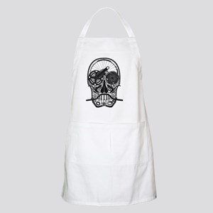 Bike Parts Skull Light Apron