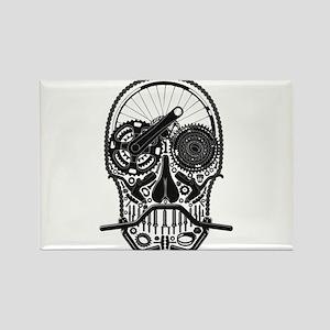 Bike Parts Skull Magnets