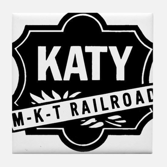 Katy Railroad Tile Coaster