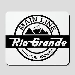 Rio Grande Rockies Railroad Mousepad