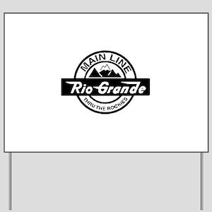 Rio Grande Rockies Railroad Yard Sign