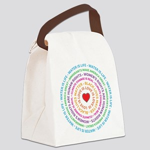 Worth Fighting For Canvas Lunch Bag