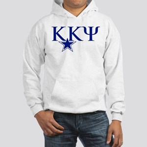 Kappa Kappa Psi Fraternity Lette Hooded Sweatshirt