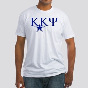 Kappa Kappa Psi Fraternity Letters Fitted T-Shirt