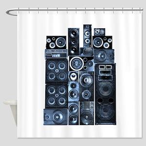Speakrs Shower Curtain