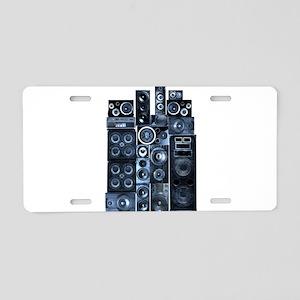 Speakrs Aluminum License Plate