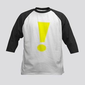 Yellow Whee Exclamation Point Baseball Jersey