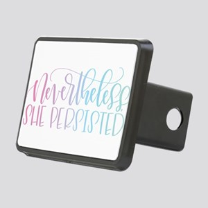 Nevertheless, She Persiste Rectangular Hitch Cover