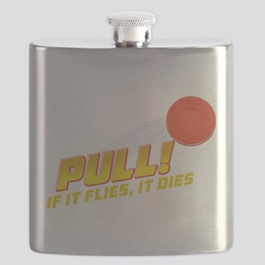 Pull! Trap Shooting Flask