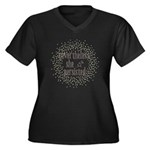 She Persisted sparkle Plus Size T-Shirt