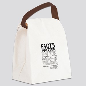 Facts Matter Canvas Lunch Bag