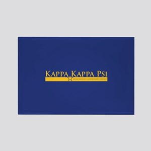 Kappa Kappa Psi Fraternity Name a Rectangle Magnet