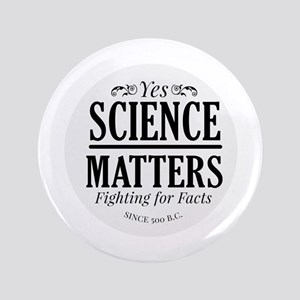 Yes Science Matters Button