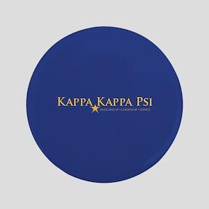 Kappa Kappa Psi Fraternity Name and Motto i Button