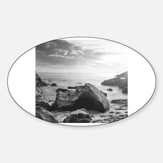 Funny Newport beach Sticker (Oval)