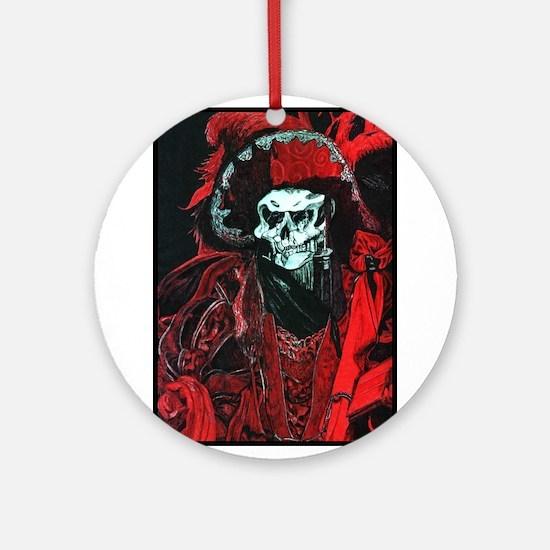 La Mort Rouge - Red Death Ornament (Round)