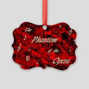 Phantom of the Opera, Red Swirl Logo, Picture Orna