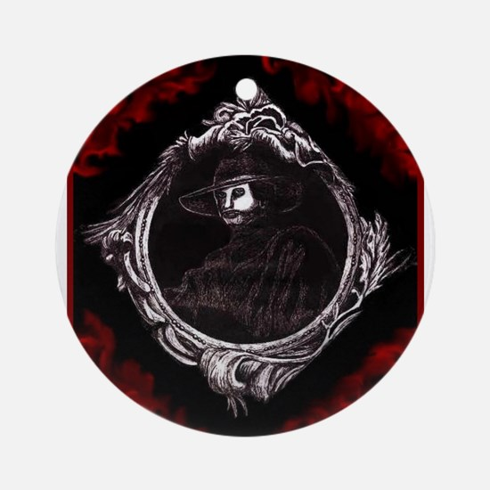 Phantom (Red) ~ Ornament (Round)