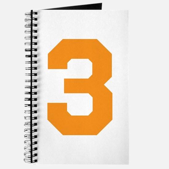 3 ORANGE # THREE Journal