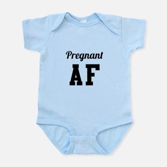 Pregnant AF Body Suit