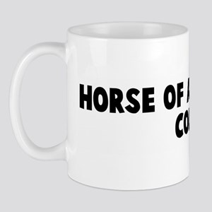 Horse of a different color Mug