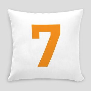 7 ORANGE # SEVEN Everyday Pillow