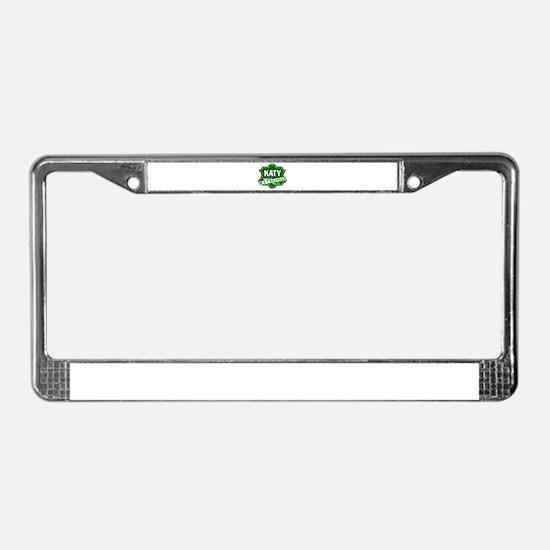 MKT Railway License Plate Frame