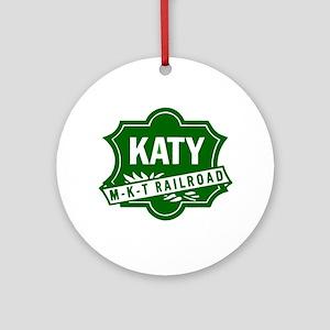 MKT Railway Round Ornament