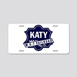 Katy Line Railway Aluminum License Plate